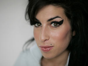 Amy Winehouse pictured February 2007.