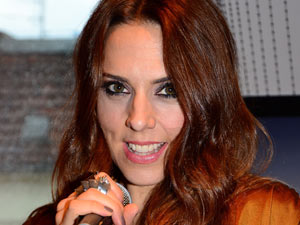 Mel C presenting her new album &#39;The Sea&#39; at Private Roof Club Berlin, Germany.