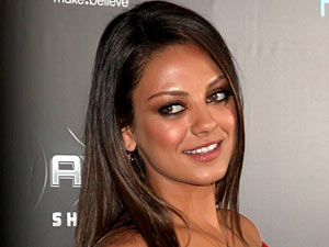 Mila Kunis attends the New York premiere of 'Friends With Benefits'