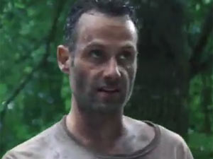 Andrew Lincoln in season 2 of The Walking Dead