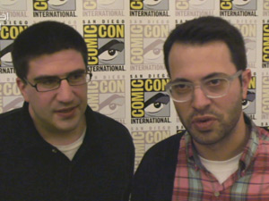 Edward Kitsis and Adam Horowitz at Comic-Con