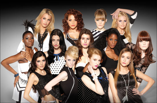 Britain and Ireland's Next Top Model: Top 13 Girls
