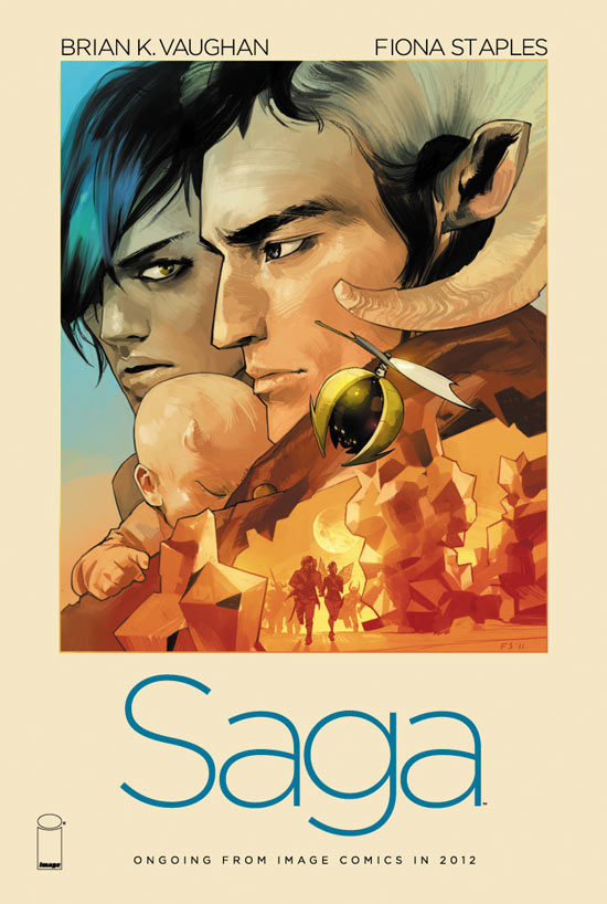 Brian K Vaughan's 'Saga'