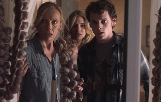 Toni Collette, Imogen Poots and Anton Yelchin