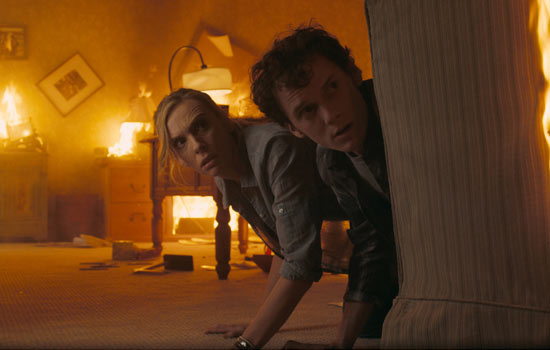 Toni Collette and Anton Yelchin