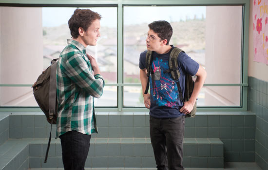 Anton Yelchin and Christopher Mintz-Plasse