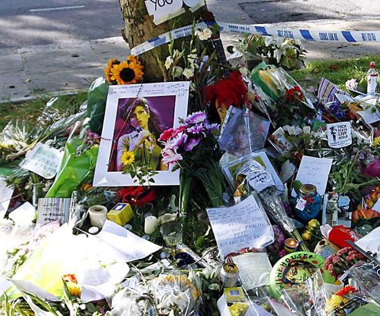 Amy Winehouse tributes