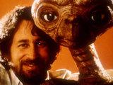 Steven Spielberg and E.T.