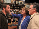 Hazel slaps Aaron affter he calls her a murderer