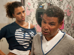 Cheryl tells Lloyd about Chris' brain tumour