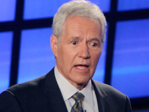 Joepardy host Alex Trebek