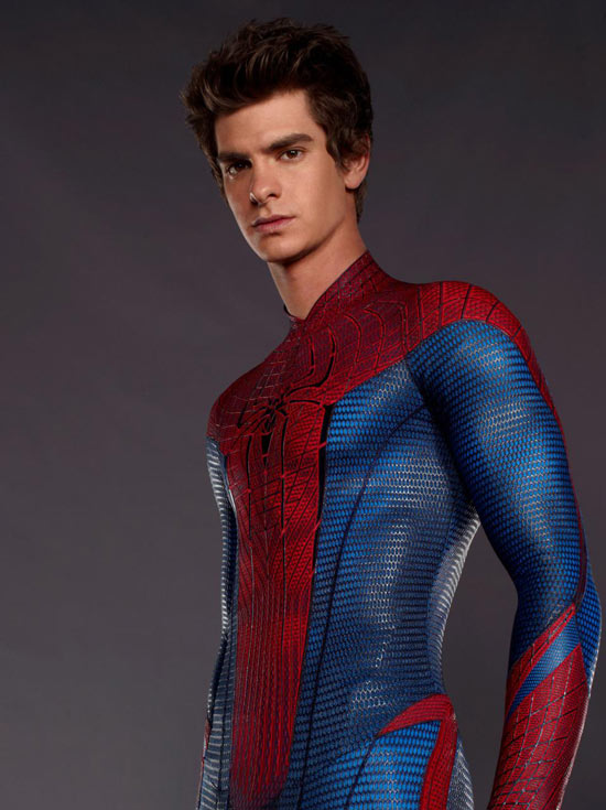 Andrew Garfield strikes a pose