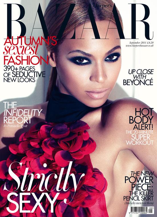 Harper's Bazaar front cover