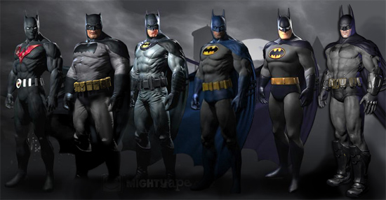 Batman: Arkham City costumes