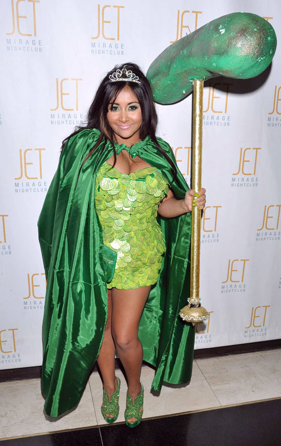 Jersey Shore's Snooki In Pictures