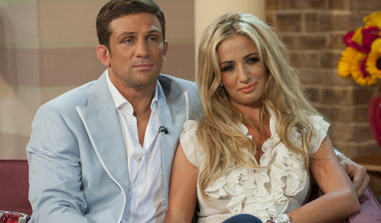 Alex Reid and Chantelle Houghton on This Morning