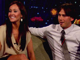 Ashley Herbert and Ben Flajnik from The Bachelorette