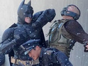 Watch Christian Bale and Tom Hardy fight on the set of The Dark Knight Rises.