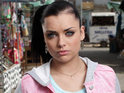 EastEnders' Shona McGarty warns that Whitney is taking a risk with her love life.