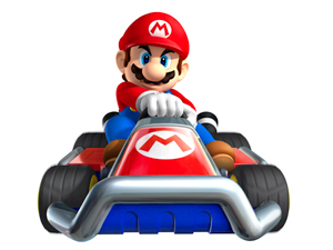 Mario Kart 7 artwork