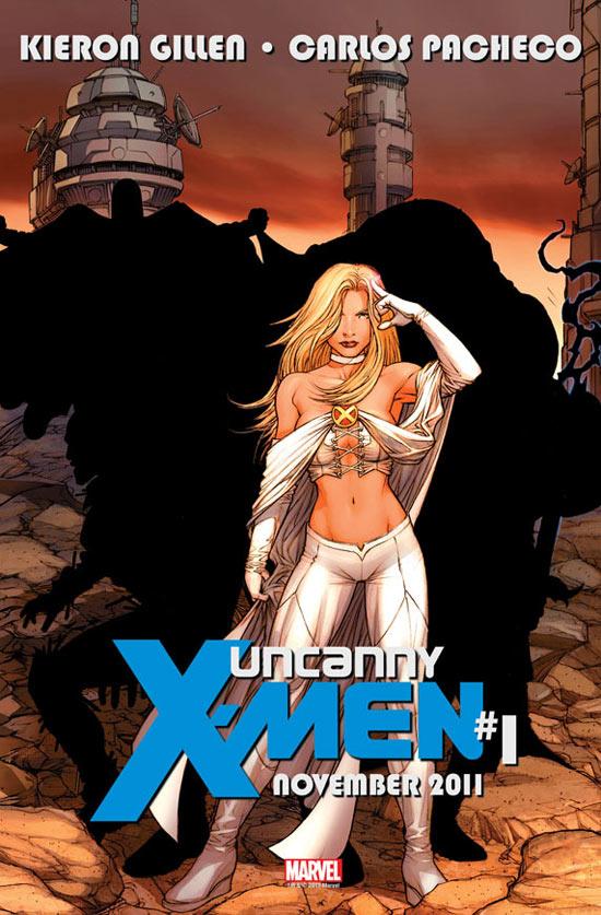 Uncanny X-Men Emma Frost teaser