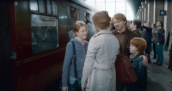 Ron Weasley, Hermione Granger and kids