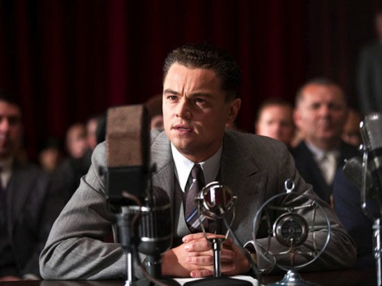 Leonardo Di Caprio as J Edgar Hoover