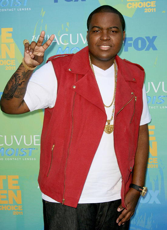 Sean Kingston at the 2011 Teen Choice Awards