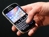 Blackberry smartphone