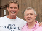 David Hasselhoff and Louis Walsh on Red Or Black