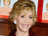 Jane Fonda attends a meet, greet and signing to promote her new book Prime Time at a Barnes and Noble store in New York City