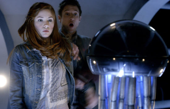 Amy and Rory meet the antibodies