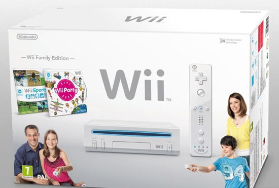 The redesigned Nintendo Wii