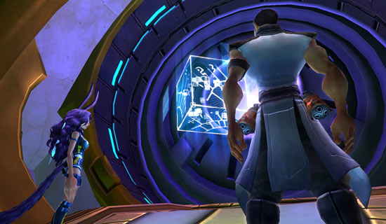 Screenshot of Wildstar