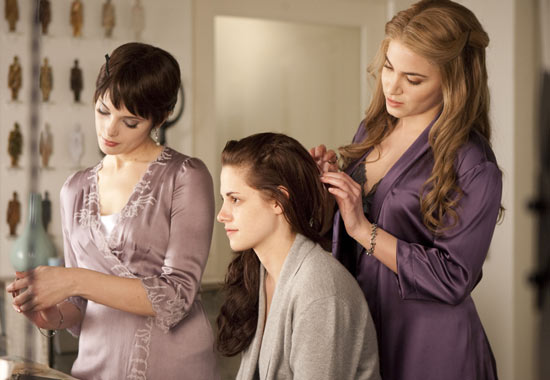Alice, Rosalie and Bella