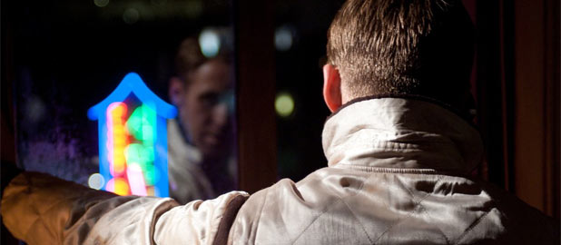 Still of Ryan Gosling in Drive