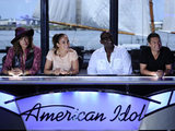 Steven Tyler, Jennifer Lopez, Randy Jackosn and Ryan Seacrest on American Idol