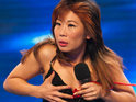 Hong Kong-born singer and X Factor act Goldie says she wants to be the new Tina Turner.