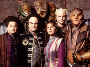 The cast of Babylon 5