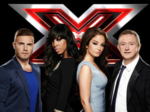 Gary, Kelly, Tulisa and Louis make up the new X Factor panel.