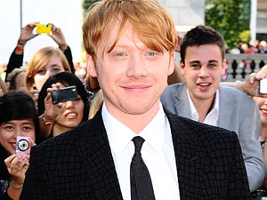 Rupert Grint - The Harry Potter star turns 23 on Wednesday.  