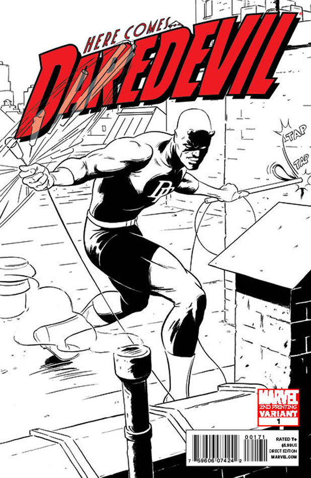 Cover for Marvel's 'Daredevil'