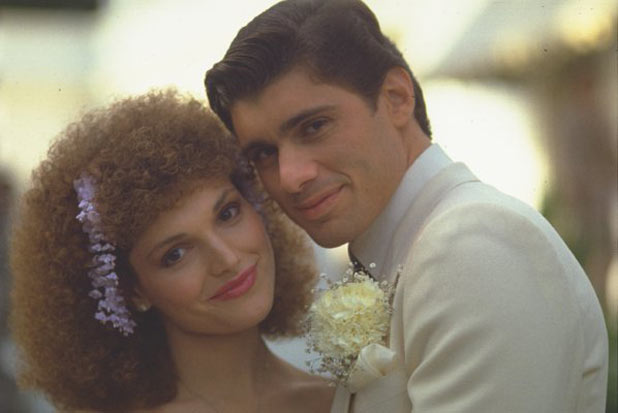 Mary Elizabeth Mastrantonio and Steven Bauer