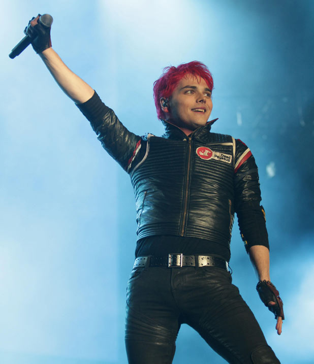 Reading Festival 2011: In Pictures: Gerard Way