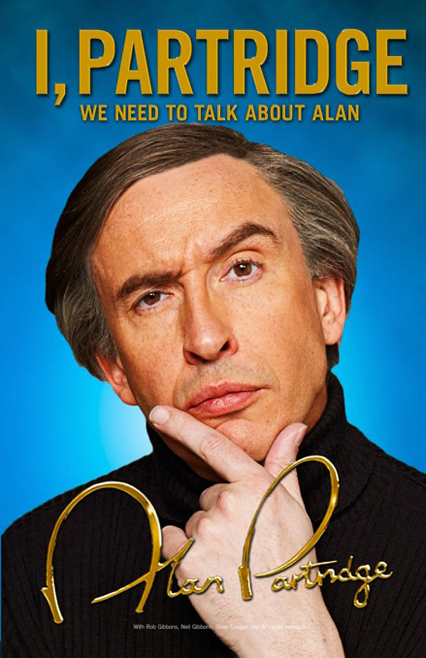 Alan Partridge autobiography cover