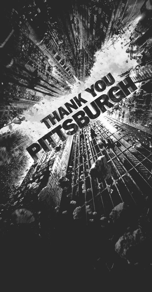 The Dark Night Rises 'Thank you Pittsburgh' ad