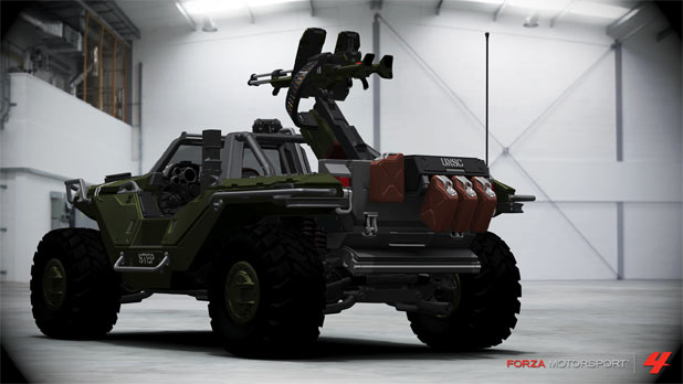Halo 4 Warthog in Forza Motorsport 4