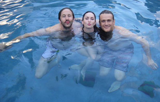 Chris O'Dowd, Megan Fox and Jason Segel