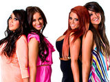 The girls from Geordie Shore