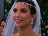 Kim Kardashian gets ready to marry Kris Humphries as filmed by E! News